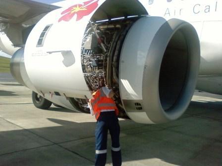 Aviation maintenance job